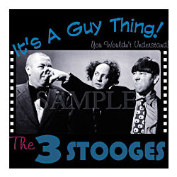 Three Stooges 'It's a Guy Thing' T-Shirt