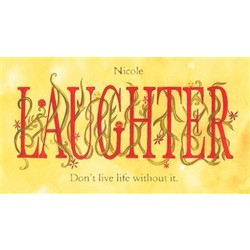 Laughter Personalized Print