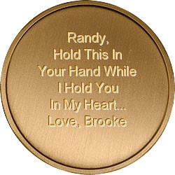 Hold This In Your Hand Engravable Coin