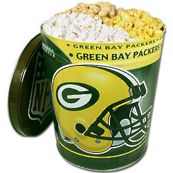 Green Bay Packers Popcorn Gift Tin
