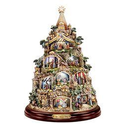 Thomas Kinkade The Nativity Story Tree