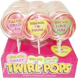 Valentine Twirl Pops