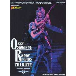 Ozzy Osbourne / Randy Rhoads Tribute Guitar Tab Songbook