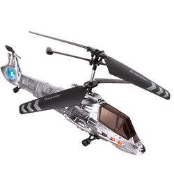 Silver Combat RC Copter