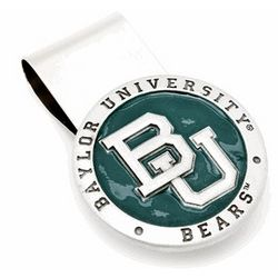 Baylor Bears Pewter Money Clip