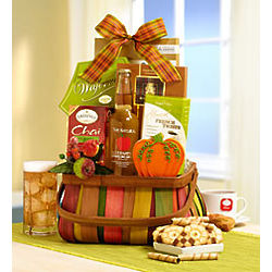 Shades of Autumn Gourmet Basket