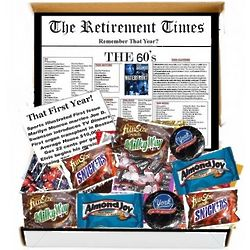 The Retirement Times Remember the 1st Year in the 60s Candy Box