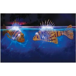 Illuminated Pool Fish Bots