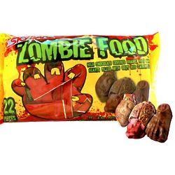 Zombie Food Halloween Chocolates and Red Caramel