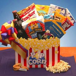 Movie Madness Block Buster Movie Gift Box