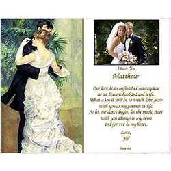Online Gift For Husband On Wedding Night : Personalized Wedding Poem for Your New Husband or Wife - FindGift.com