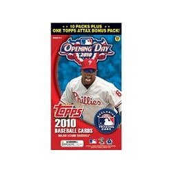 2010 Topps Opening Day MLB Blaster Trading Cards