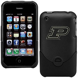 Purdue Boilermakers Black Team Logo iPhone Duo Shell Case