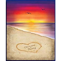 Personalized Sunset Canvas