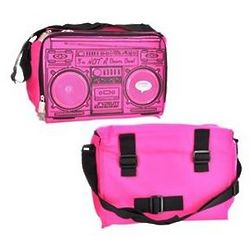 Boom Box Cooler Bag with Speakers