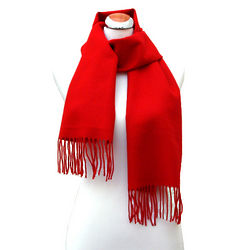 Cashmere Feel Red Scarf
