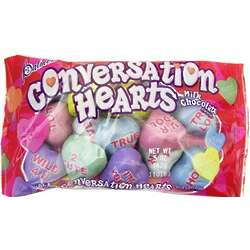 Chocolate Conversation Hearts Bag