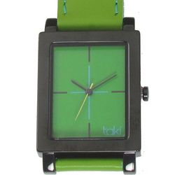Spring Green and Mint Green Design Watch