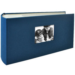 Hudson 1 Up Cloth Slip-In Photo Album