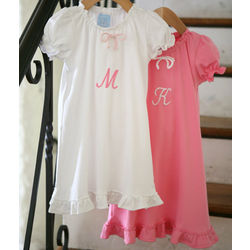Girl's Short Sleeved Play Gown