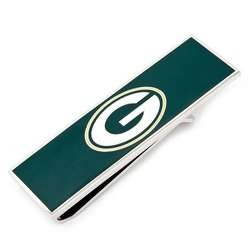 Green Bay Packers Money Clip with Valet Box