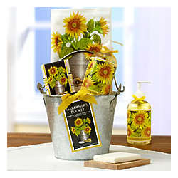 Sunflower Kitchen Spa Gift Bucket