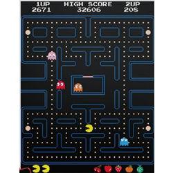 Pac-Man Arcade Screen Wall Decal