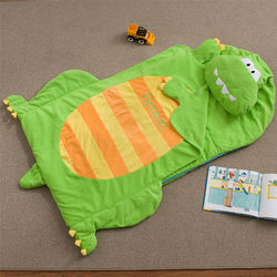 Kid's Personalized Dinosaur Sleeping Bag Nap Mat