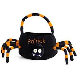 Halloween Spider Personalized Trick-or-Treat Bag