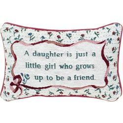 Daughter and Friend Pillow