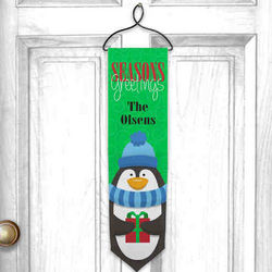 Personalized Seasons Greetings Welcome Banner