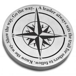 Customized Leadership Compass Paperweight