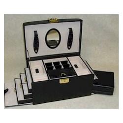 Large Leather Jewel Box
