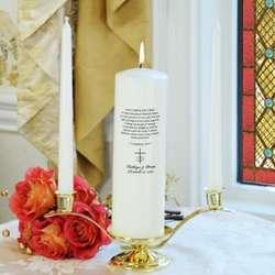 Personalized Corinthians Unity Candle Set