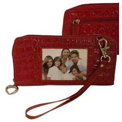 Red Photo Frame Wallet