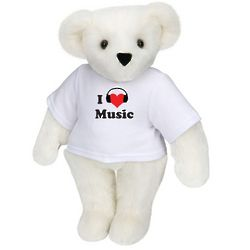 I Heart Music Teddy Bear