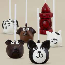 Dog Lovers Chocolate Cake Pops