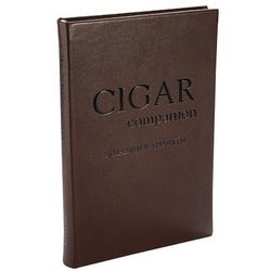 Cigar Companion Leather Bound Book