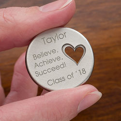 Graduation Inspiration Personalized Pocket Token