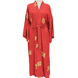 Red Passion Batik Robe