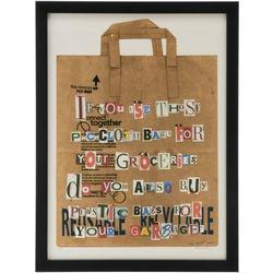 Paper Bag Art Print