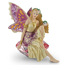 Fire Storm the Fighter Breast Cancer Figurine