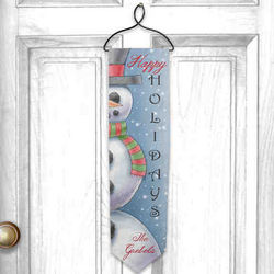 Personalized Happy Holidays Welcome Banner