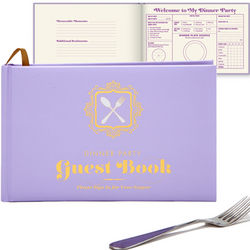 Dinner Party Guest Book