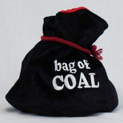 Christmas Bag of Coal