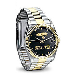 Star Trek U.S.S. Enterprise Stainless Steel Watch