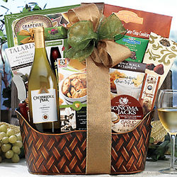 Crossridge Peak Chardonnay Gift Basket