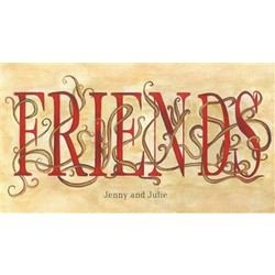 Forever Friends Personalized Print