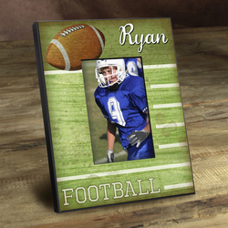 Personalized Kids Football Picture Frame