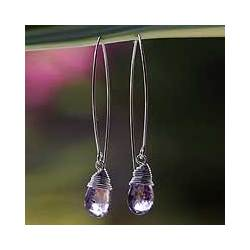 Sublime Amethyst Drop Earrings
